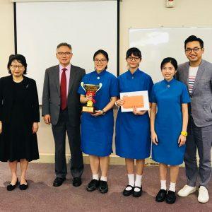 中文辯論隊蟬聯大律師公會辯論賽冠軍